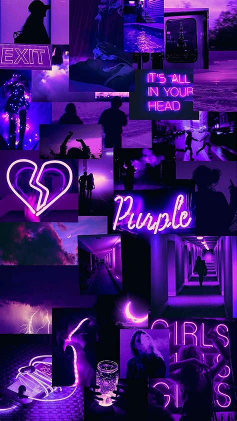 Aesthetic Neon Purple Wallpapers - Wallpaper Cave