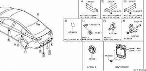Nissan Versa Sensor Air Bag  Center   Front   Electrical