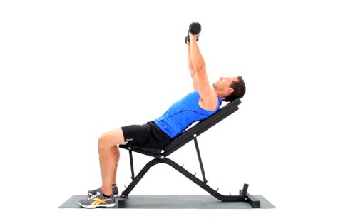 Incline Bench Press Angle by Proper Angle For Incline Bench Press Livestrong