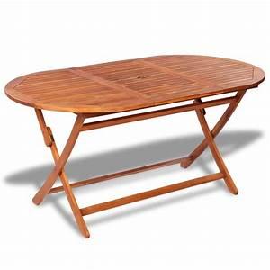 Table De Jardin Ovale : la boutique en ligne table de jardin ovale en bois ~ Teatrodelosmanantiales.com Idées de Décoration