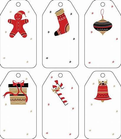 Gift Tag Templates Printable Christmas Word Tags