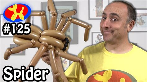 spider balloon animal lessons  youtube
