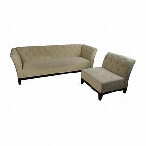 63 off macy39s macy39s tufted sofa with modular chaise With macy s sectional sofa with chaise