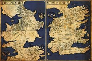 Game of Thrones Westeros Map Printable