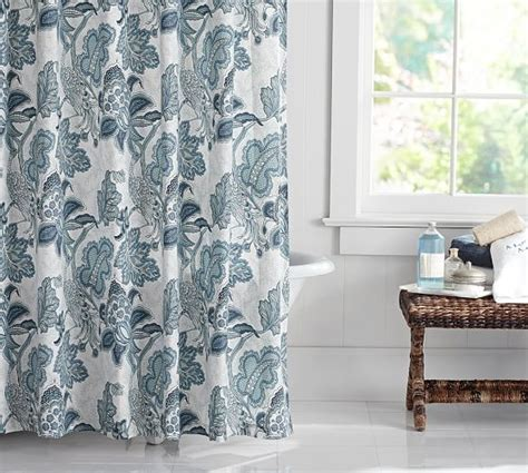 pottery barn shower curtains paige palore shower curtain pottery barn