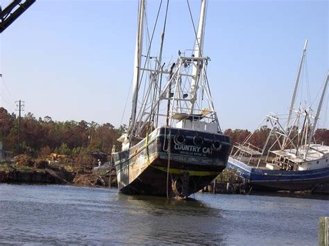 Jon Boats For Sale Mobile Al by Bayou La Batre Al Shrimp Boat Rescued 2 By Geenet Photo
