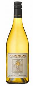 Toad Hollow Mendocino County Unoaked Chardonnay 2014