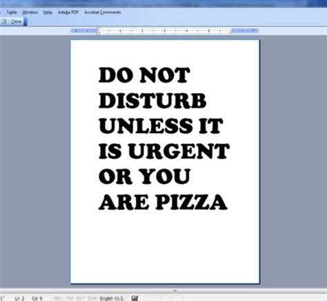 Do Not Disturb Funny Quotes
