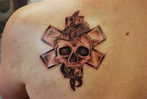 paramedic tattoo | Black Iron Tattoo