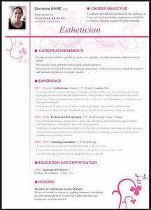esthetician resume with no experience resume template With esthetician resume template