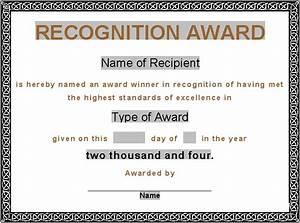Award Certificates, Award Certificate, Gift Certificate ...
