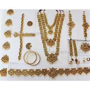 bharatanatyam jewellery set 10 pcs beautiful south indian temple indian bridal jewelry