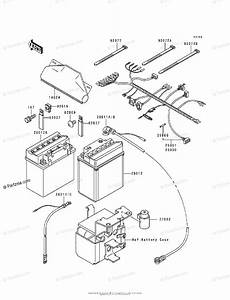 Kawasaki Atv 1989 Oem Parts Diagram For Chassis Electrical Equipment