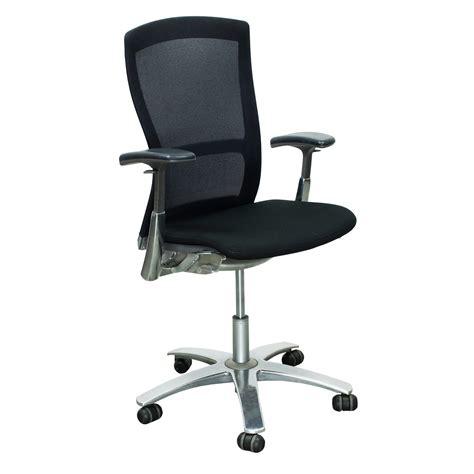 knoll used mesh back task chair black national