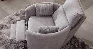Fauteuil Pivotant Design : venus fauteuil pivotant et basculant personnalisable sur univers du cuir ~ Teatrodelosmanantiales.com Idées de Décoration