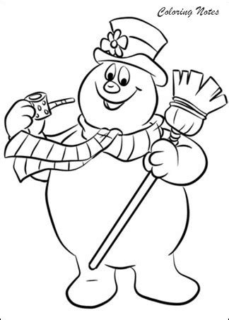 20 cute snowman coloring pages for kids easy free and