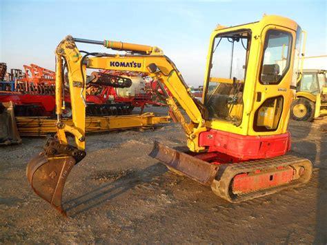 komatsu pcmr  mini excavators