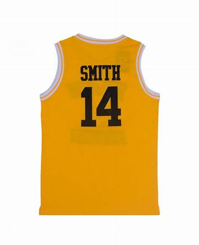 Smith Bel Air Jersey Basketball Yellow