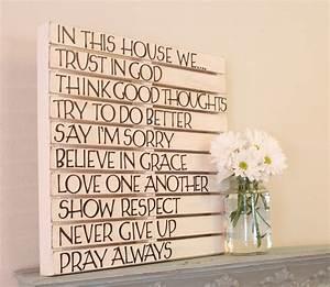 Word wall art decor ideas