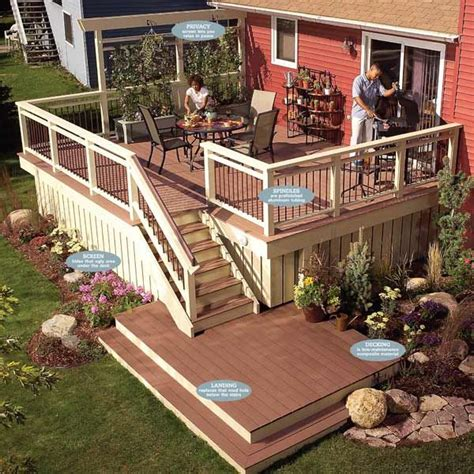 rebuild   deck   decking  railings