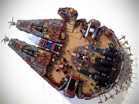 this stunning steunk millennium falcon is the worthy winner of steam wars returns mikeshouts