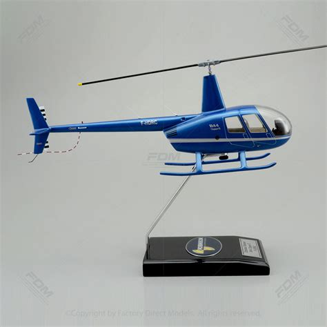 Robinson R44 Model with Detailed Interior
