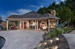 Pool House - Traditional - Patio - dc metro - by Lewis