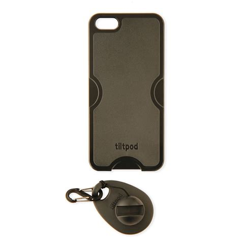iphone keychain tiltpod magnetic keychain stand for the iphone 5 black
