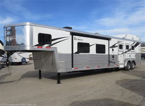 living horse trailer trailers quarter wheel 5th bison safety function line ride premiere sales luxurious engineered stylish mind tag archives