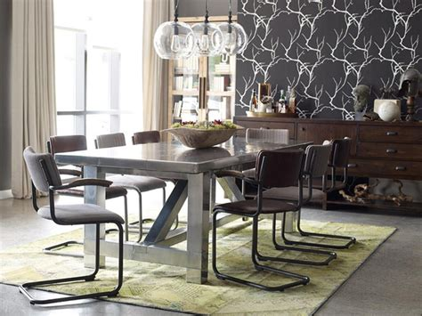 industrial looking dining room tables top 5 industrial style dinning rooms
