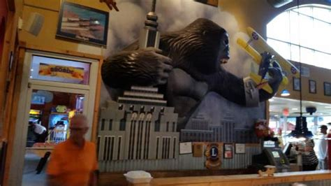 Flight Deck Restaurant Sc by King Kong On One Wall Picture Of Flight Deck Restaurant