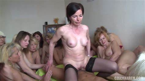 Czech Group And Creampied