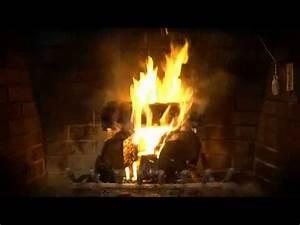 Feu A Bois : fond d 39 cran pour t l vision feu de bois 1 youtube ~ Melissatoandfro.com Idées de Décoration