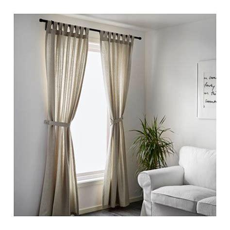 ikea lenda curtains uk lenda curtains with tie backs 1 pair light beige light