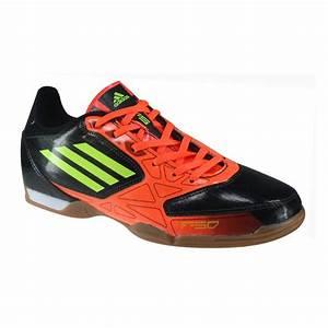 Adidas F5 - Mens Indoor Soccer Shoes - Black/Orange/Yellow ...