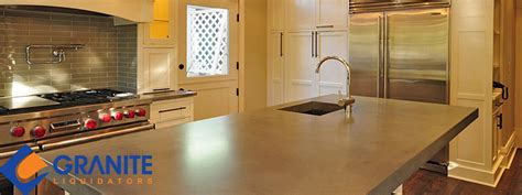 concrete vs granite countertops what s the difference