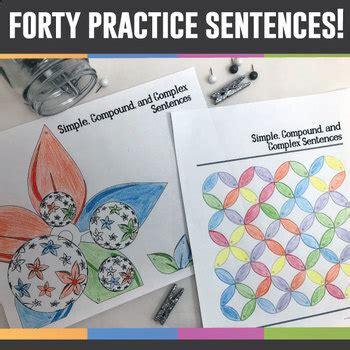 color  grammar simple compound  complex sentences