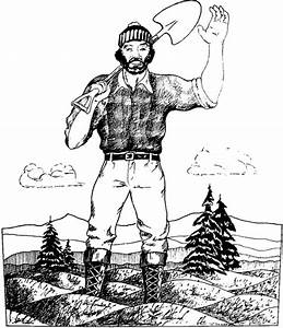 Free Paul Bunyan Coloring Pages Coloring Pages