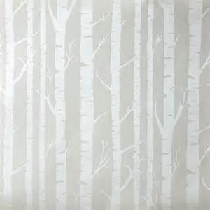 tapete für jugendzimmer caselio oh la la tapete mit bäumen in grau