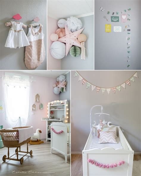collection chambre bebe deco chambre bebe fille gris collection et chambre