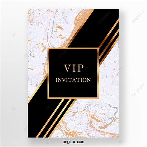 Simple And Luxurious Black Gold Marble Template Template