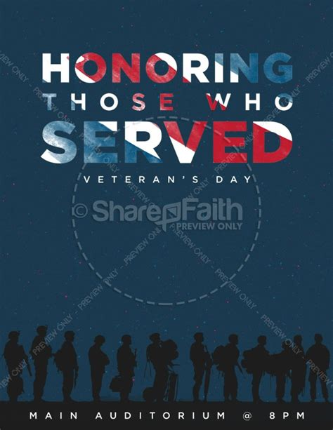 veterans day program template veterans day honoring those who served church flyer template flyer templates