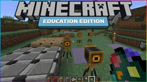 minecraft education edition gameplay exclusive features