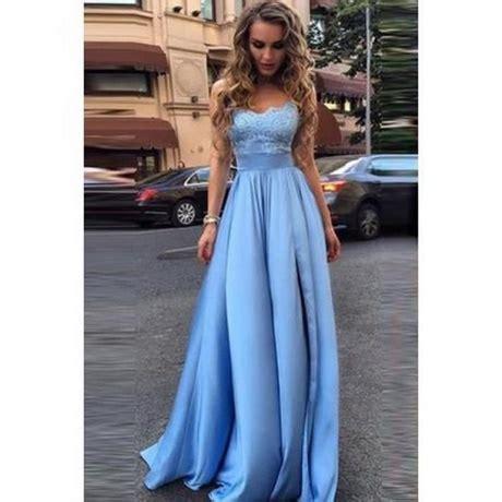 robe longue bleu mariage