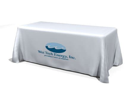 custom table covers with logo custom table covers