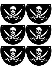 Printable Pirate Eye Patch