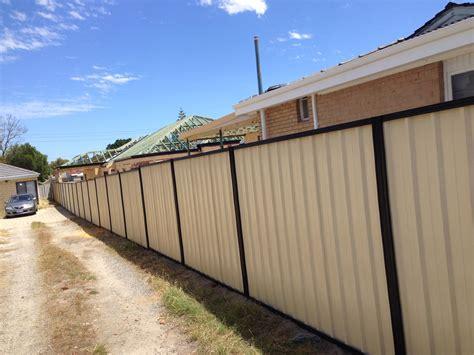 colorbond fencing perth perth fencing contractors
