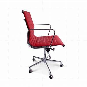 Eames Replica Deutschland : ea117 eames style office chair low back ribbed red leather replica ~ Sanjose-hotels-ca.com Haus und Dekorationen