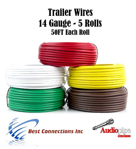 Trailer Light Cable Wiring For Harness Feet Gauge