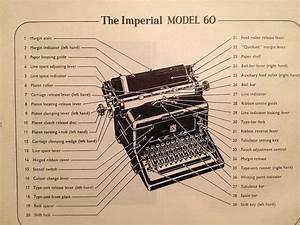 Imperial 60 Typewriter Parts Diagram